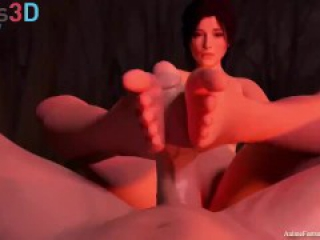 Animated Footjob Joi 2 Edging and Cum Countdown