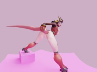 Overwatch Mercy Tentacle Anal 4K 60FPS VR [Animation by Likkezg]