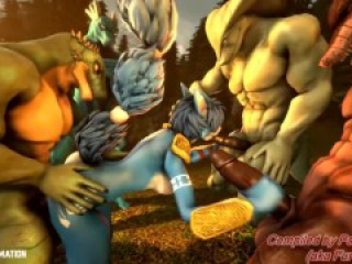 Straight/Gay Furry Porn Animations Compilation set 2 for vol 3