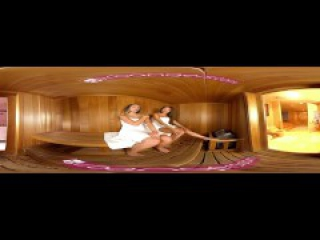 VR PORN - Jaye Steaming the Sauna with Exotic Asian Ayumi Anime's Hot Body