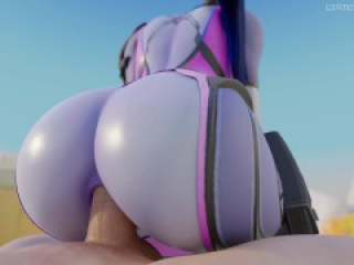 OVERWATCH WIDOWMAKER 3D ANIMATED POV PORN GAME VIDEO #4